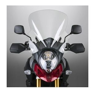 National Cycle VStream Tall Touring Windscreen Suzuki VStrom 1000 2014-2016 Clear [Previously Installed]