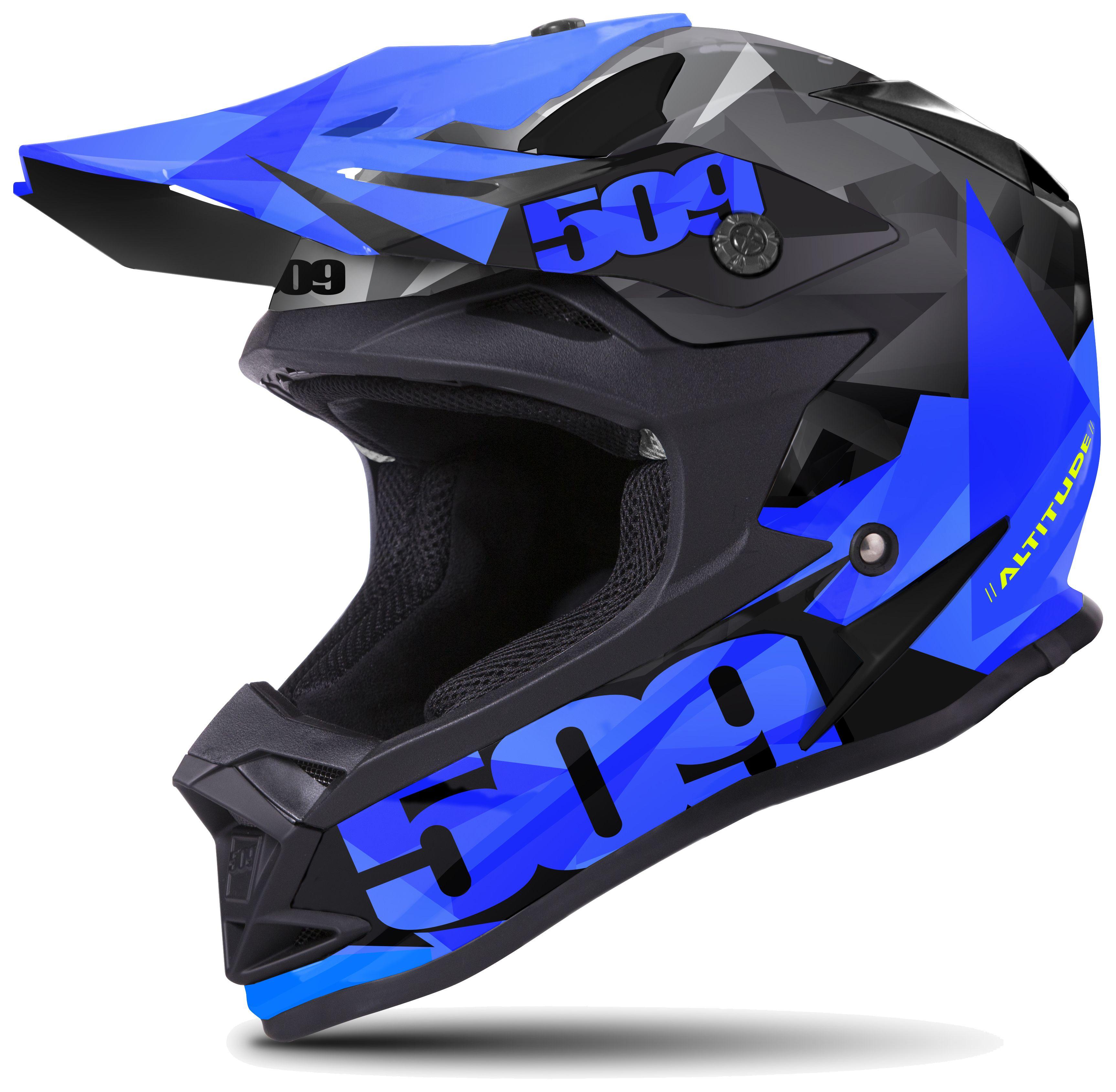 Full Face Cruiser Helmets >> 509 Altitude Triangle Helmet | 30% ($71.98) Off! - RevZilla