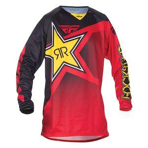 Fly Racing Dirt Kinetic Rockstar Jersey (MD)