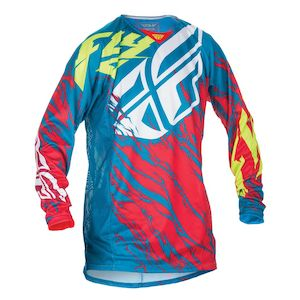 Fly Racing Dirt Youth Kinetic Relapse Jersey (XL)