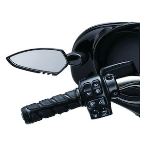 Kuryakyn Fairing Mounted Scythe Mirrors For Harley Touring
