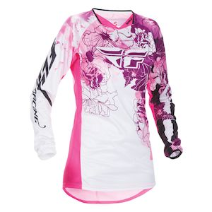 Fly Racing Dirt Kinetic Girl's Jersey