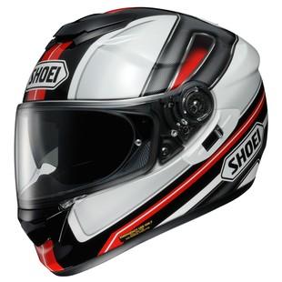 Shoei GT-Air Dauntless Helmet Black/Red/White / SM [Blemished - Very Good]