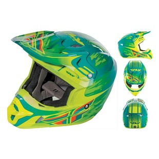 Fly Racing Youth Kinetic Pro Andrew Short Replica Helmet