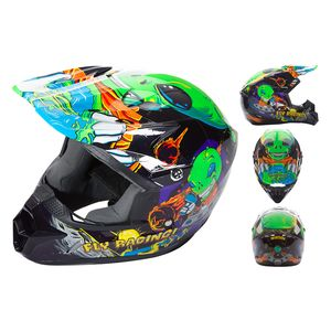 Fly Racing Dirt Youth Kinetic Invasion Helmet