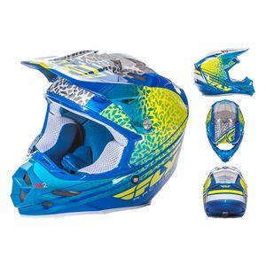 Fly Racing Dirt F2 Carbon Animal Helmet