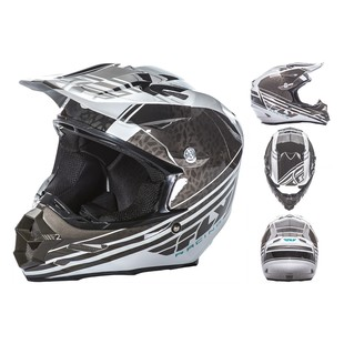 Fly Racing F2 Carbon Animal Helmet