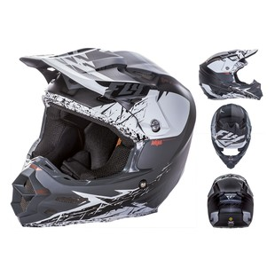 Fly Racing F2 Carbon MIPS Retrospec Helmet