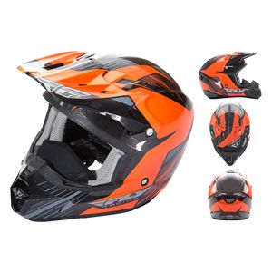 Fly Racing Dirt Kinetic Pro Cold Weather Helmet (2XL)