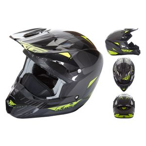 Fly Racing Dirt Kinetic Pro Cold Weather Helmet