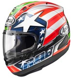 Arai Corsair X Nicky 6 Helmet Red/White/Blue / SM [Blemished - Very Good]
