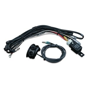 Kuryakyn Light Wiring Relay Kit With Switch For Harley 1996-2018