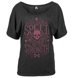 Speed and Strength Hell's Belles Women's T-Shirt