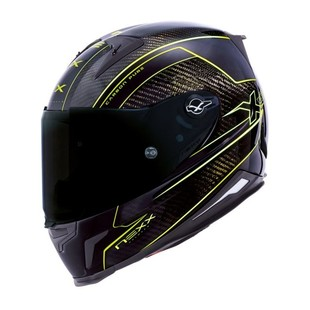 Nexx XR2 Carbon Pure Helmet Neon Yellow / LG [Blemished - Very Good]