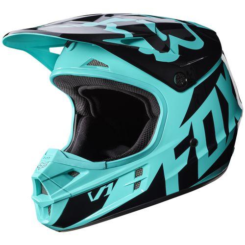 fox racing v1 race helmet revzilla. Black Bedroom Furniture Sets. Home Design Ideas