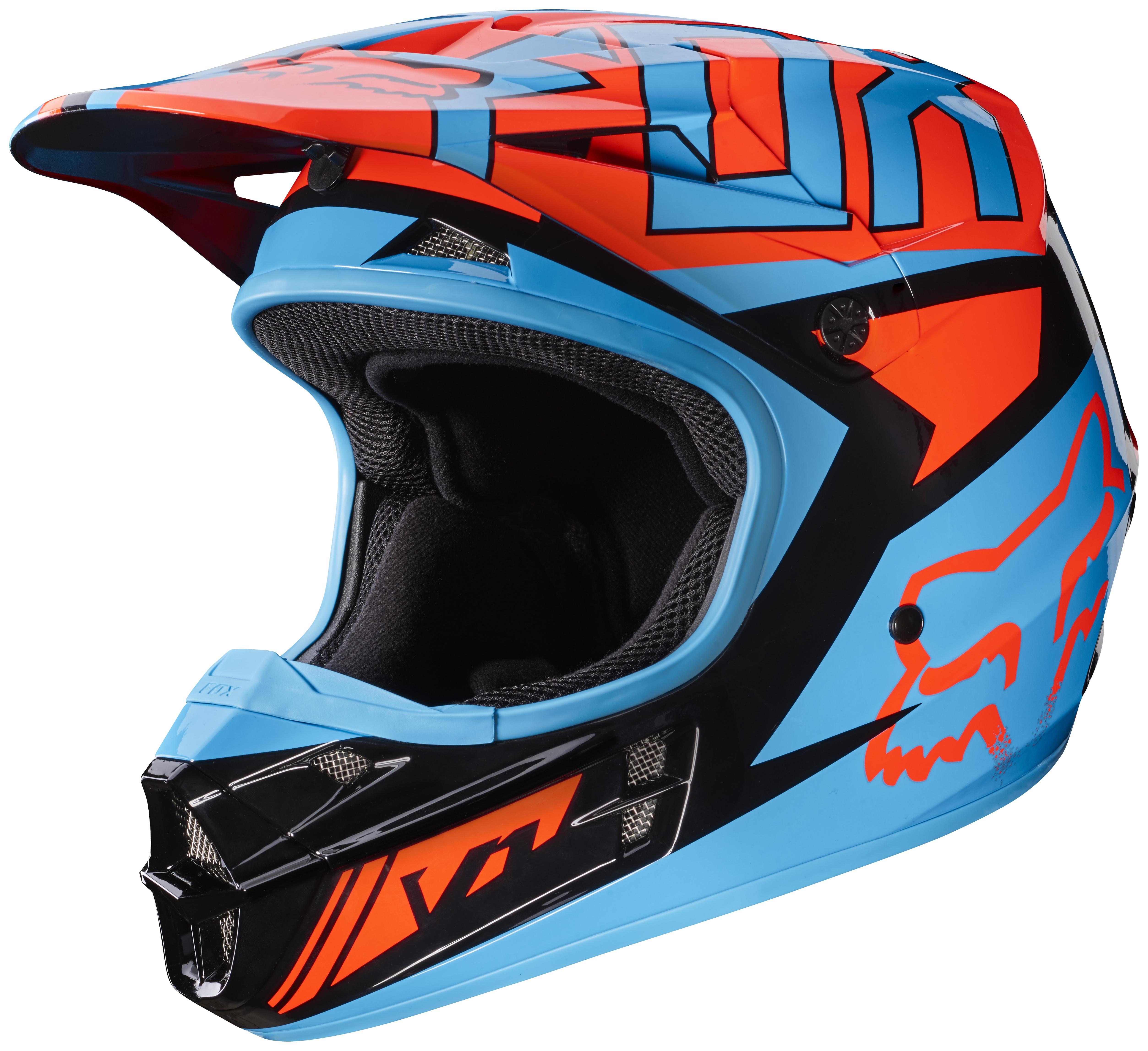 Fox Racing V1 Falcon Helmet 35 59 48 Off Revzilla