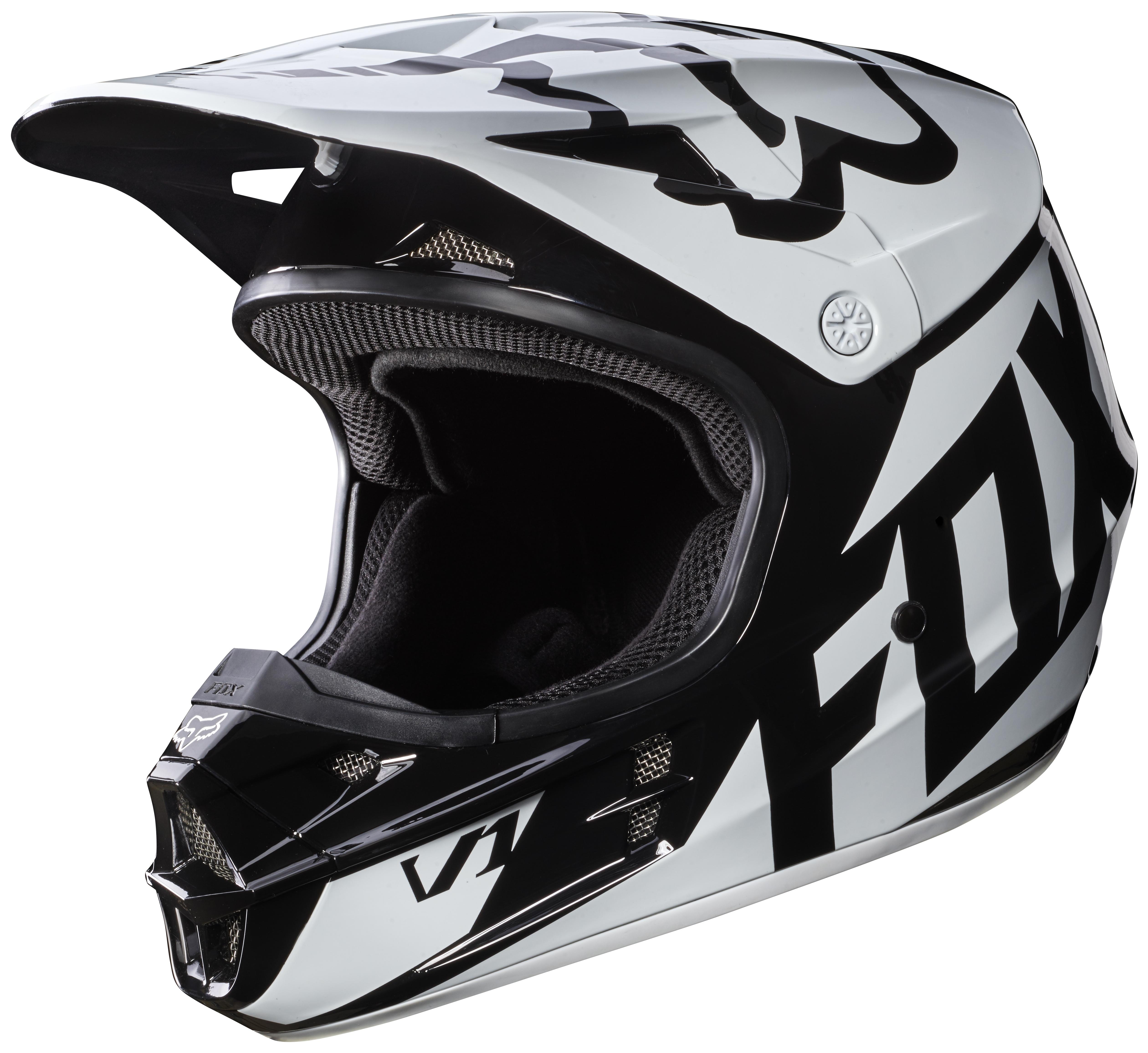 fox racing youth v1 race helmet revzilla. Black Bedroom Furniture Sets. Home Design Ideas