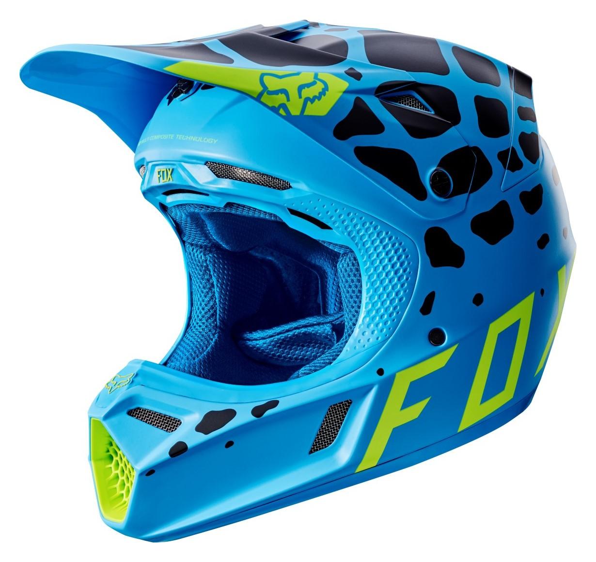 Fox Racing V3 Grav Helmet Revzilla