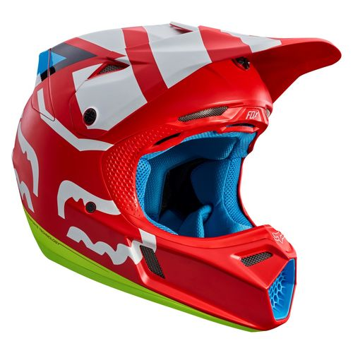 fox racing v3 creo helmet revzilla. Black Bedroom Furniture Sets. Home Design Ideas