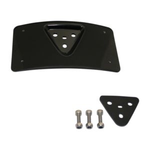 Custom Dynamics Radius Laydown License Plate Frame Mount For Harley