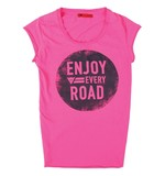 Dainese N'Joy Women's T-Shirt - Fuchsia