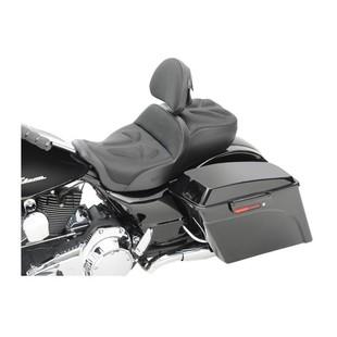 Saddlemen Explorer G-Tech Seat For Harley Touring 2008-2016 Black / Standard With Driver Backrest [Demo - Good]