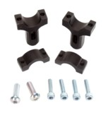 Moose Racing Aluminum Handguard Inner Mounting Clamps