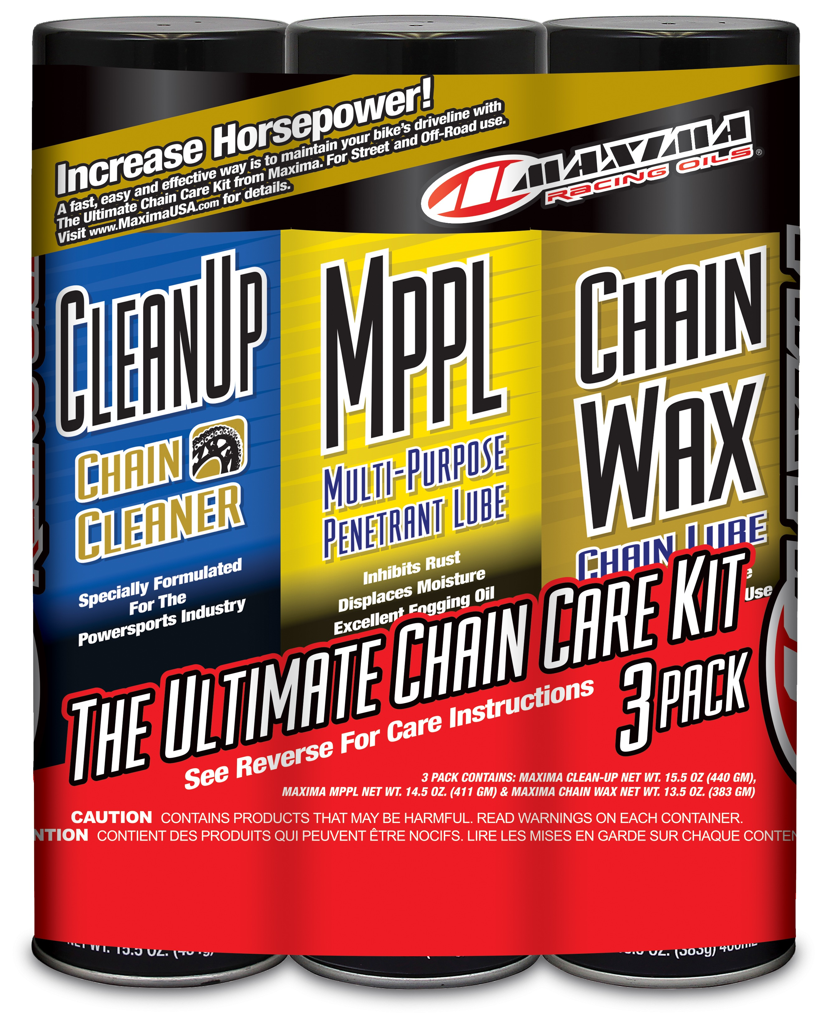 how to use maxima chain wax