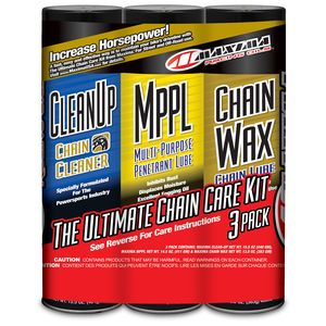 Maxima Chain Care Kit With Chain Wax