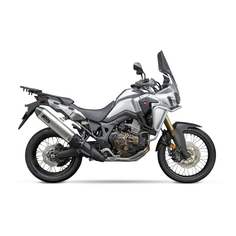 yoshimura rs 4 slip on exhaust honda africa twin 2016 2019. Black Bedroom Furniture Sets. Home Design Ideas