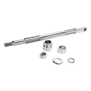 Drag Specialties Chrome Front Axle Kit For Harley Softail 2000-2006