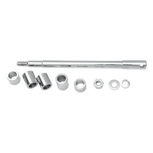 Drag Specialties Chrome Front Axle Kit For Harley Softail 1986-1999
