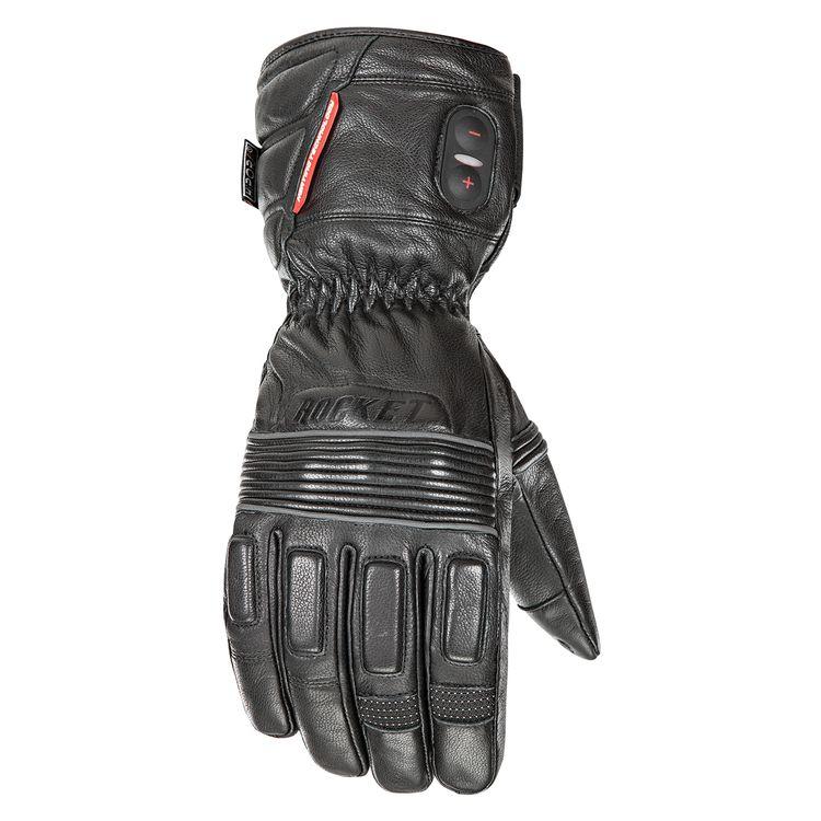 Joe Rocket 7V Rocket Burner Leather Heated Gloves