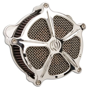Roland Sands Venturi Speed 5 Air Cleaner For Harley 2008-2016 Chrome [Previously Installed]