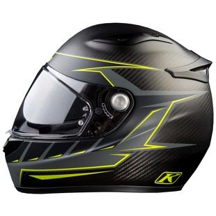 Klim K1R Discern Hi-Viz Motorcycle Helmet