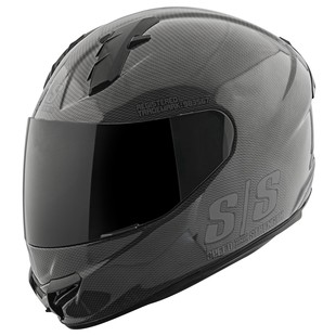 Speed and Strength SS1400 Twist Of Fate Helmet Black/Black / LG [Open Box]