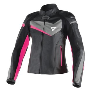 Dainese Veloster Women's Leather Jacket [Size 52 Only]