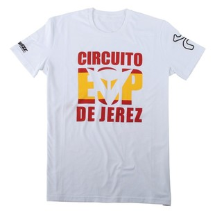 Dainese Jerez D1 T-Shirt (White Only)