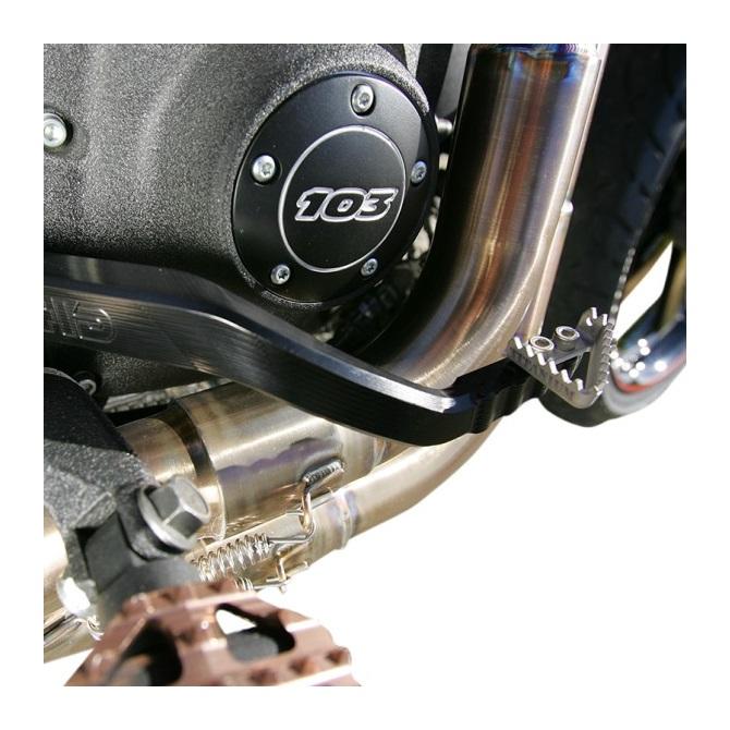 Hammerhead Rear Brake Arm / Pedal For Harley Dyna 1991-2014