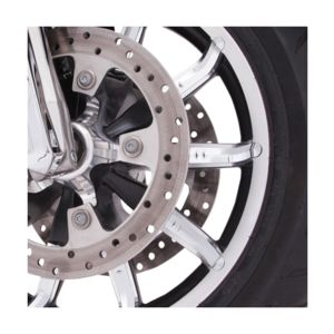 Ciro Faceted Wheel Accents For Harley Touring 2014-2020