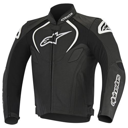 Alpinestars Leather Jacket >> Alpinestars Jaws Perforated Leather Jacket - RevZilla