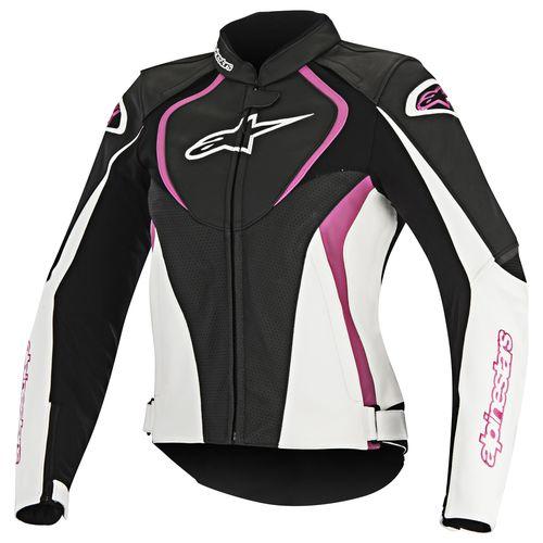 Alpinestars Stella Jaws Perforated Leather Jacket - RevZilla