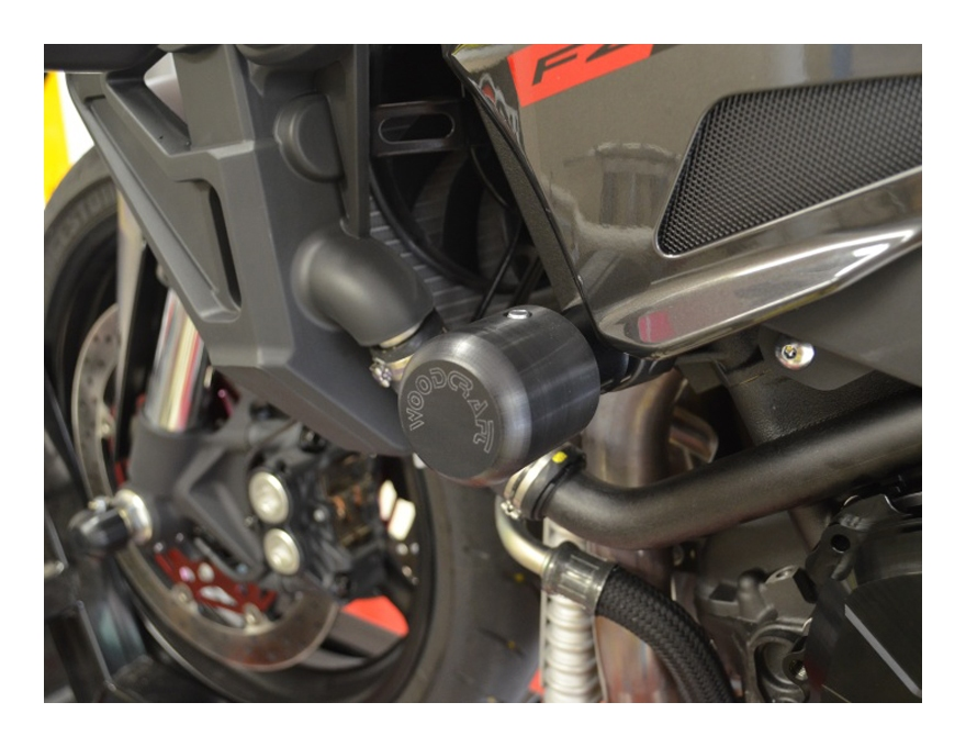 woodcraft frame slider base yamaha fz 10 mt 10 2017 2018 revzilla - Woodcraft Frame Sliders