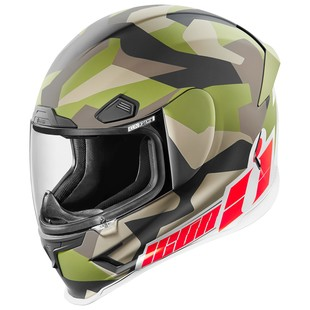 Icon Airframe Pro Deployed Motorcycle Helmet
