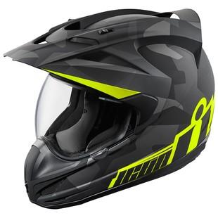 Icon Variant Deployed Motorcycle Helmet