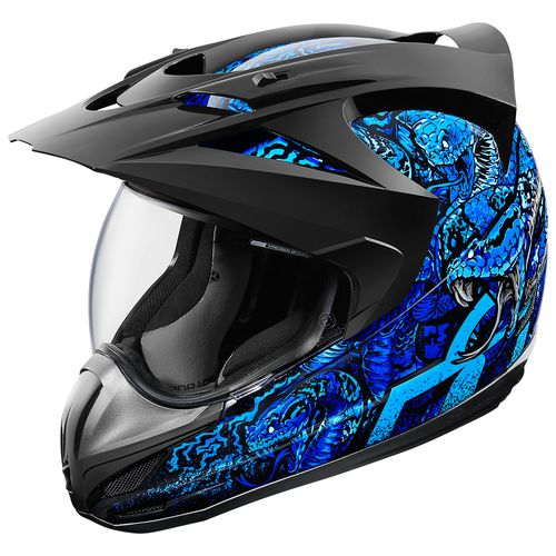 $290.00 Icon Variant Cottonmouth Dual Sport Helmet With ...