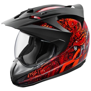 Icon Variant Cottonmouth Motorcycle Helmet