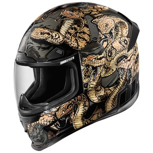 Icon Airframe Pro Cottonmouth Motorcycle Helmet