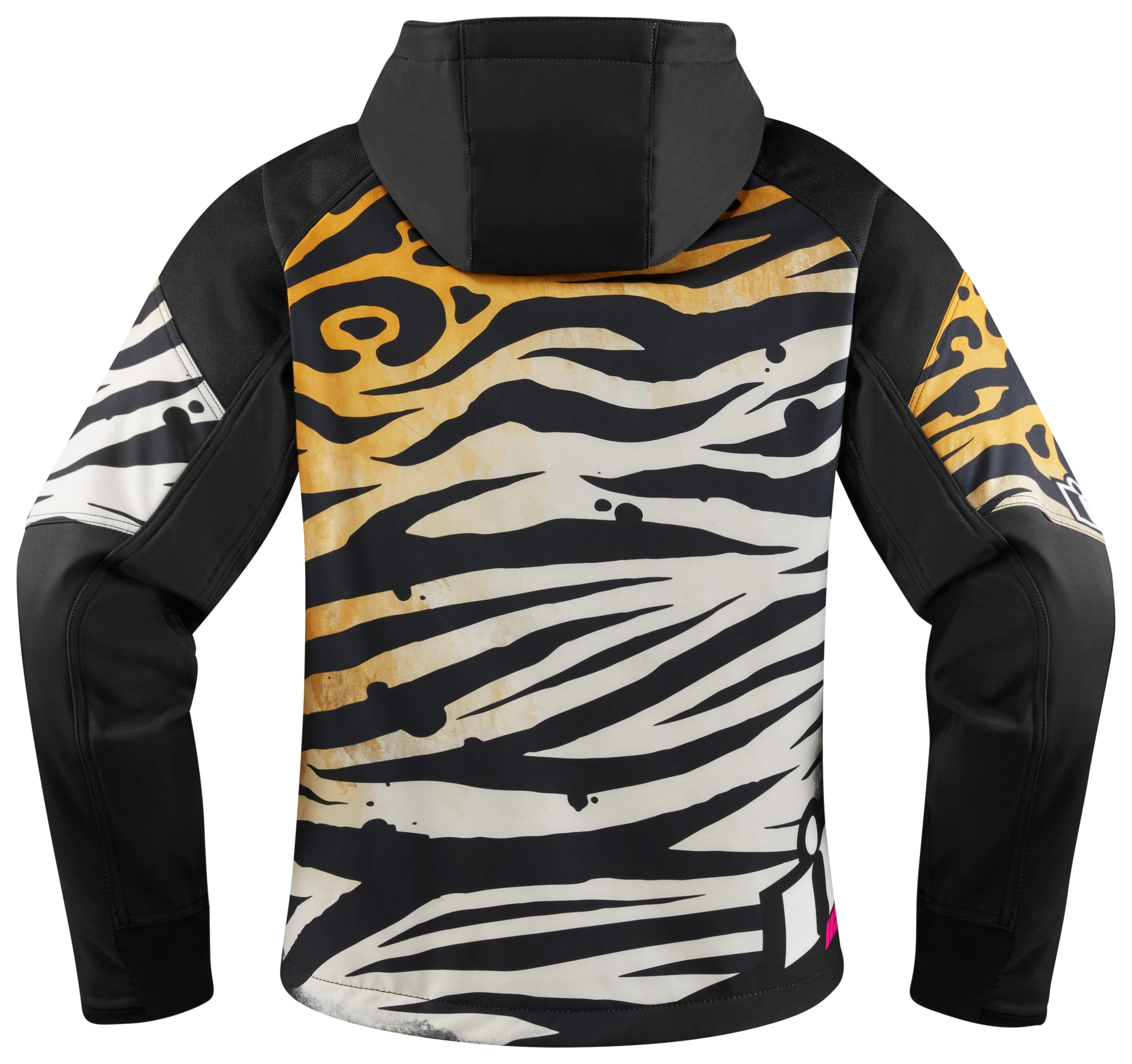 Pick Size ICON Women/'s Merc SHAGUAR Textile Motorcycle Jacket