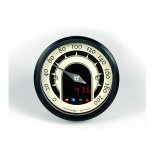 Motogadget Motoscope Tiny Speedster Speedometer Black Bezel [Demo - Good]